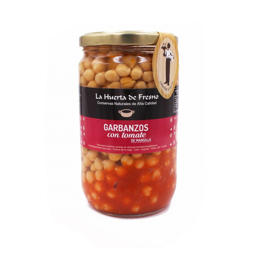 garbanzos con tomate